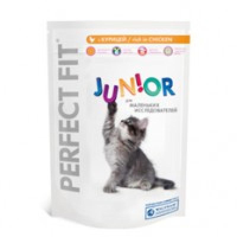 Perfect Fit Junior Корм для котят с курицей 190 г