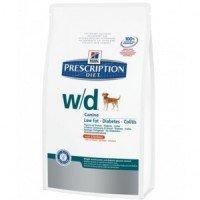 Hills Canine W|D Лечебный сухой корм для собак, контроль веса