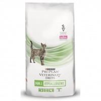 Purina Veterinary Diets HA Корм для кошек, профилактика аллергии 1.5 кг
