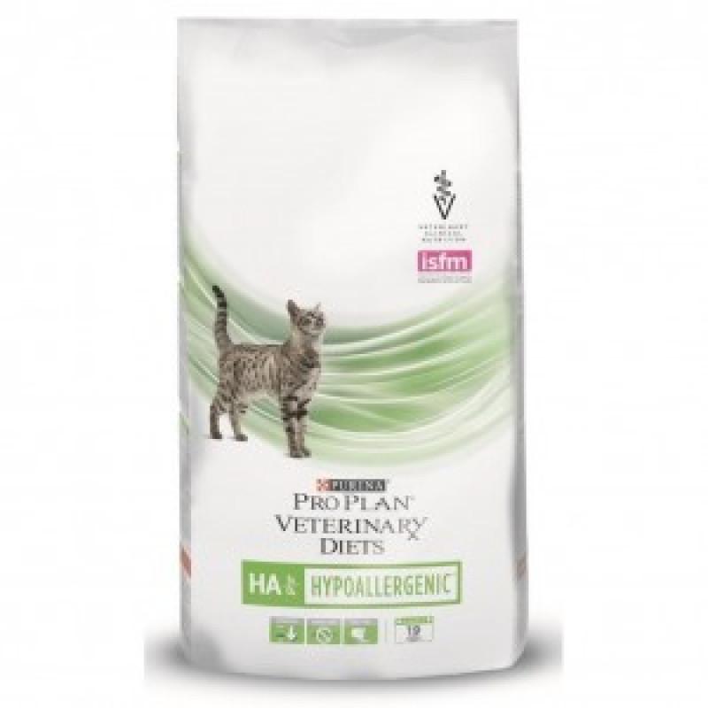 1.5кг Purina Veterinary Diets HA Корм для кошек, профилактика аллергии