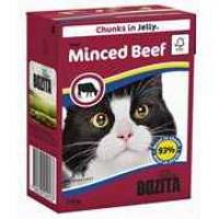 Bozita Beef Cat Кусочки в желе с рубленой говядиной для кошек