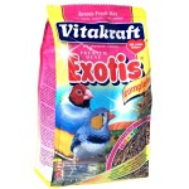 Витакрафт Корм для экзотических птиц Обогащенный минералами, витаминами и протеином