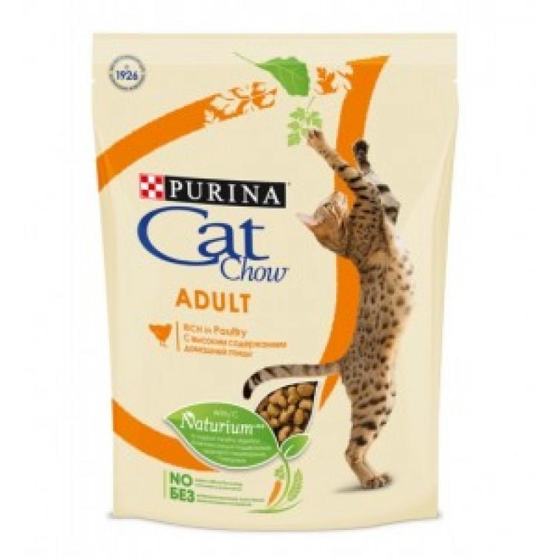 Cat Chow Adult Chicken & Turkey Корм для кошек, Индейка Курица