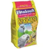 Корм для средних попугаев Afriсan Корм для средних африканских попугаев, содержит вит.А, кальций и фосфор