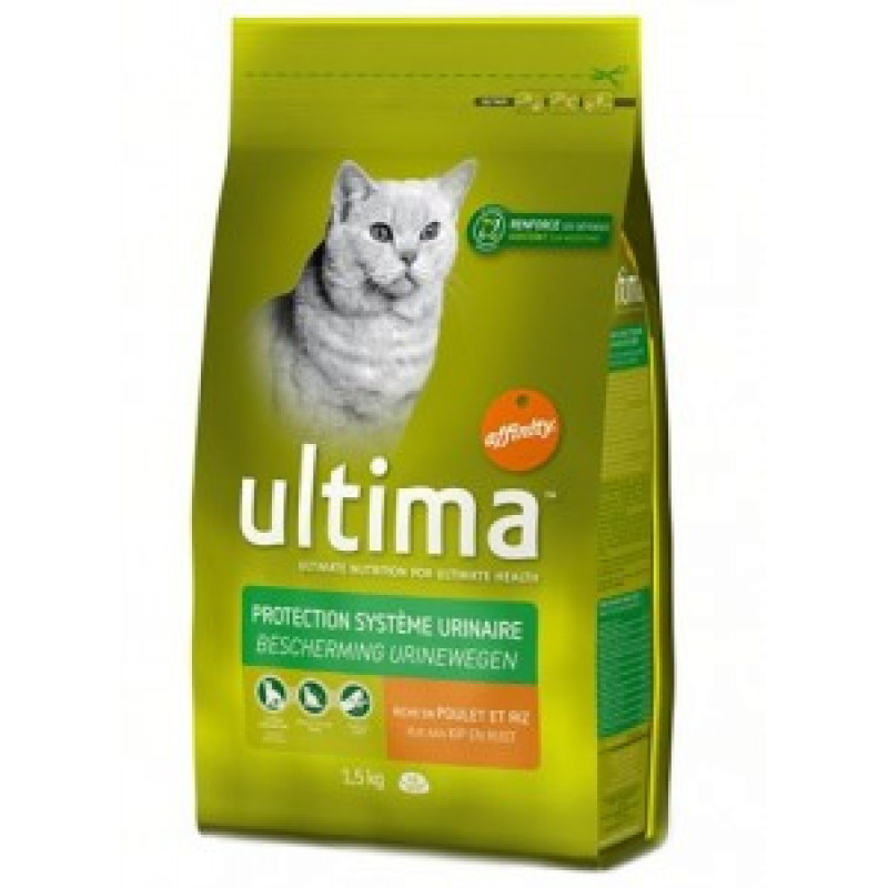 Ultima Adult Chicken&Rice  Сухой корм для кошек с Курицей и рисом 350 г