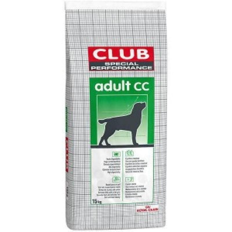 Royal Canin Club Adult CC Корм для взрослых собак с нормальной активностью 20кг