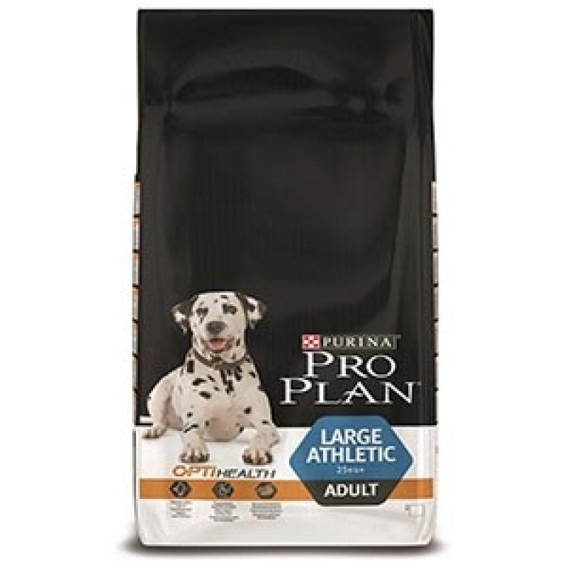 Pro Plan Large Adult Athletic Корм для взрослых собак крупных пород атлетического телосложения, Курица с рисом