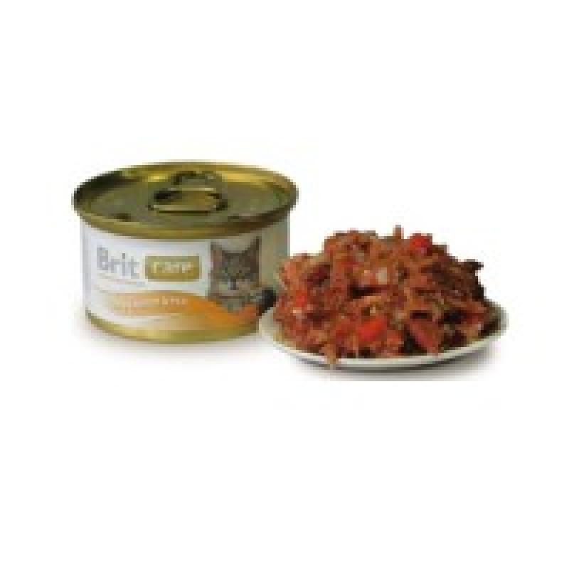 Brit Care Tuna, Carrot, Pea Консервы для кошек с тунцом, морковью и горошком