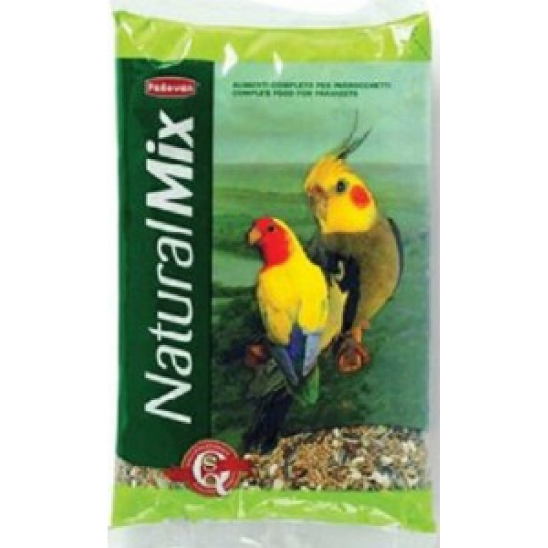 Padovan Naturalmix Parrocchetti Корм для средних попугаев