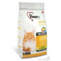 1st CHOICE Mature or Less Active Корм для стареющих и малоактивных кошек от 10 лет