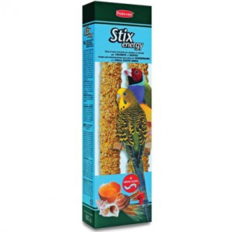 Padovan Stix Energy Палочки для канареек с яйцом и ракушечником