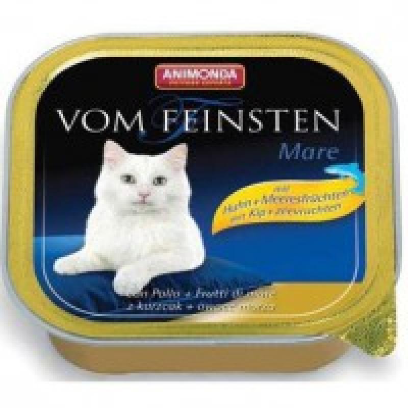 Animonda Vom Feinsten Mare Консервы для кошек с курицей и морепродуктами0