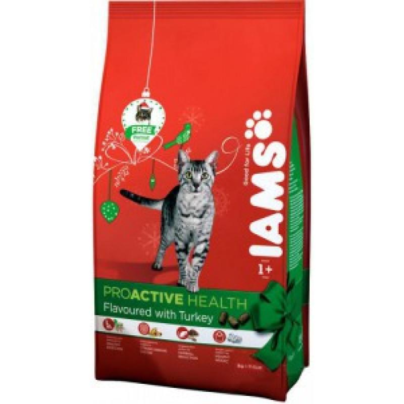 Iams Adult with Turkey Корм для взрослых кошек с индейкой 1 кг