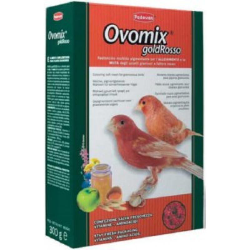 Padovan Ovomix Gold Rosso Корм для декоративных птиц с красным оперением