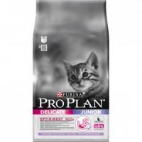 Pro Plan Junior Delicate Корм для котят с чувствительной кожей и пищеварением (Индейка)