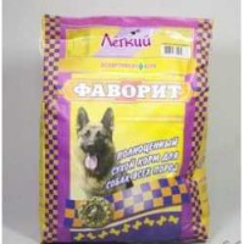 Фаворит Легкий Комбикорм для собак, склонных к полноте 13кг