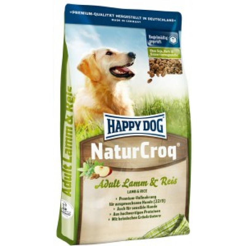 Happy Dog NaturCroq Ягненок и рис Корм для врослых собак с ягненком и рисом гипоаллергенный 15кг