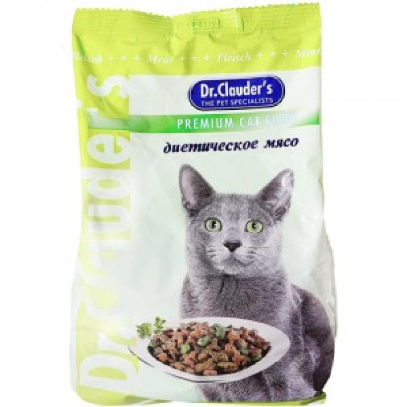 DrClauders Диетическое Мясо Корм для кошек, диетическое мясо