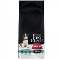 Pro Plan Medium Puppy Sensitive с ягненком  Корм сухой для щенков с чувствительным пищеварением