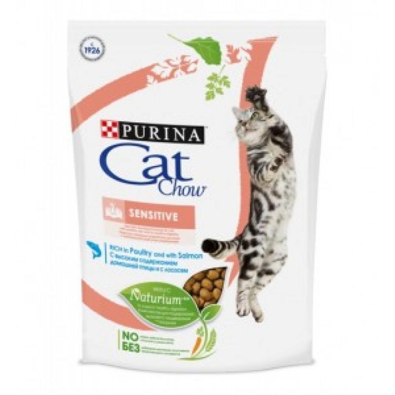 Cat Chow Special Care  Sensitive Корм сухой для кошек с Чувствительным пищеварением