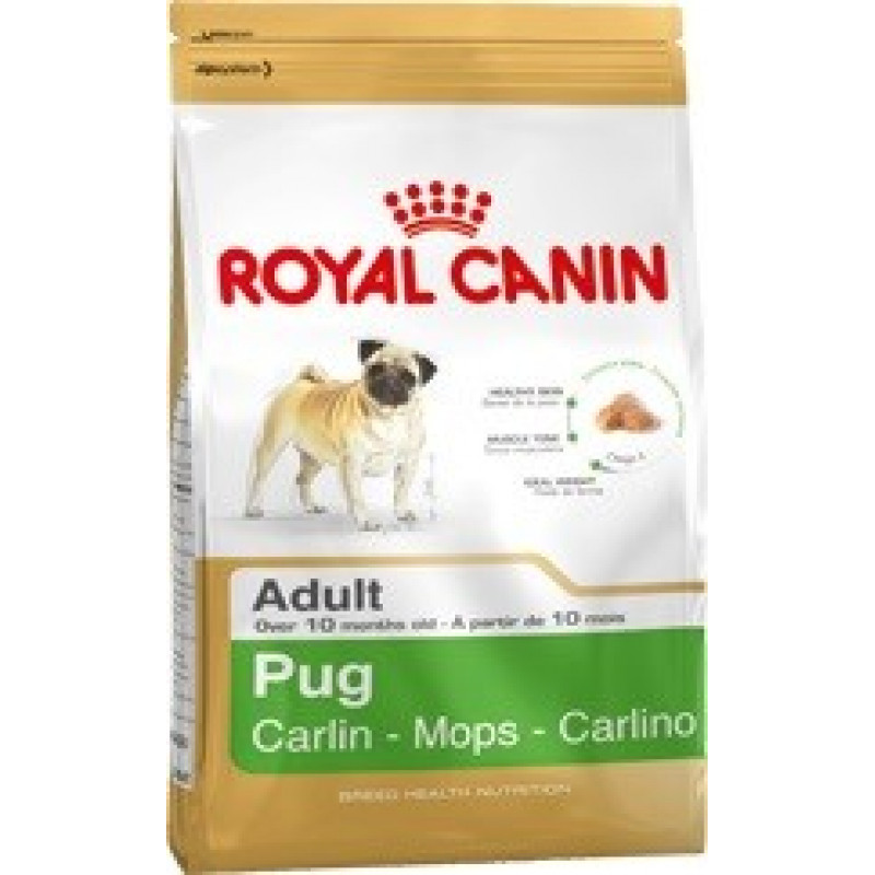 Royal Canin Pug 25 Корм для собак породы Мопс старше 10 месяцев