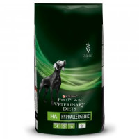 Purina Veterinary Diets HA Корм для собак при пищевой аллергии и непереносимости 3кг