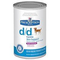 Hills Canine D|D Duck & Rice Консервы для собак, лечение пищевых аллергий, острых панкреатитов с Уткой и Рисом