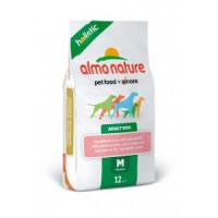 Almo Nature Holistic Сухой корм для взрослых собак средних пород с лососем 2кг