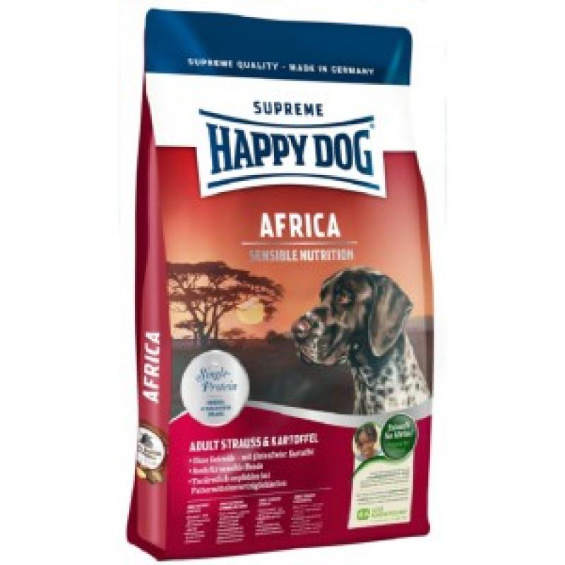 Happy Dog Supreme Sensible Africa Корм для собак, Африка 12.5кг