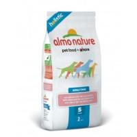 Almo Nature Holistic Сухой корм для взрослых собак мелких пород с лососем 2кг