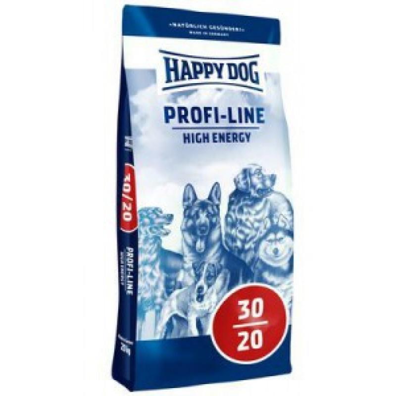 Happy Dog Profi Krokette High Energy (Энерджи) 30/20 корм для собак с очень высокими энергетическими потребностями 20кг