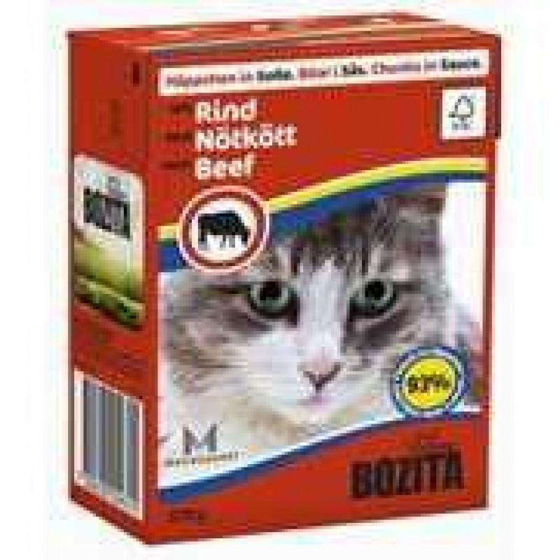 Bozita Beef Cat Кусочки в соусе с говядиной для кошек