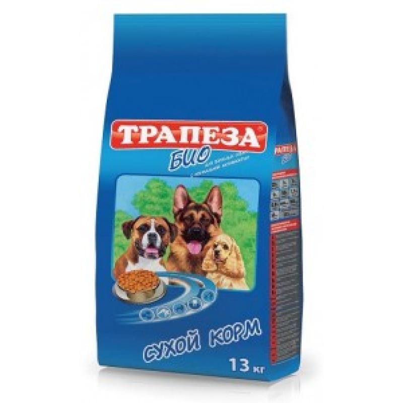 Трапеза Био Корм для взрослых собак