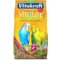 Корм для волнистых попугаев Vital lave special Специальный, сбалансированный, легкоусваемый корм из дикой травы и эвкалипта