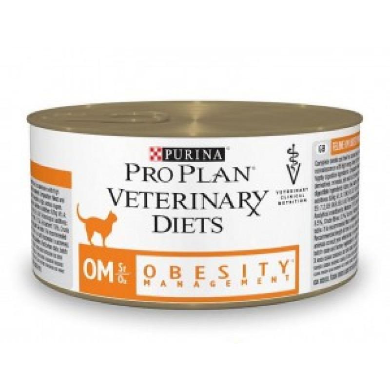 Purina Veterinary Diets OM Консервы для кошек при ожирении