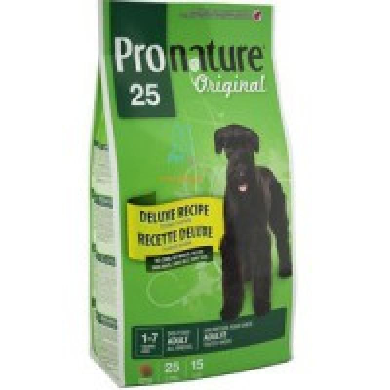 Pronature Original 25 Корм для взрослых собак без сои, пшеницы, кукурузы
