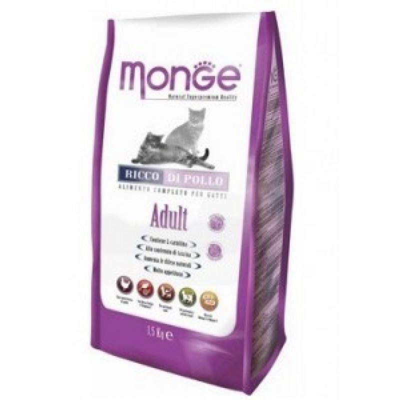 Monge Cat Adult Сухой корм для взрослых кошек 1,5 кг
