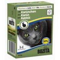 Bozita Rabbit Cat Кусочки в соусе с кроликом для кошек 370г