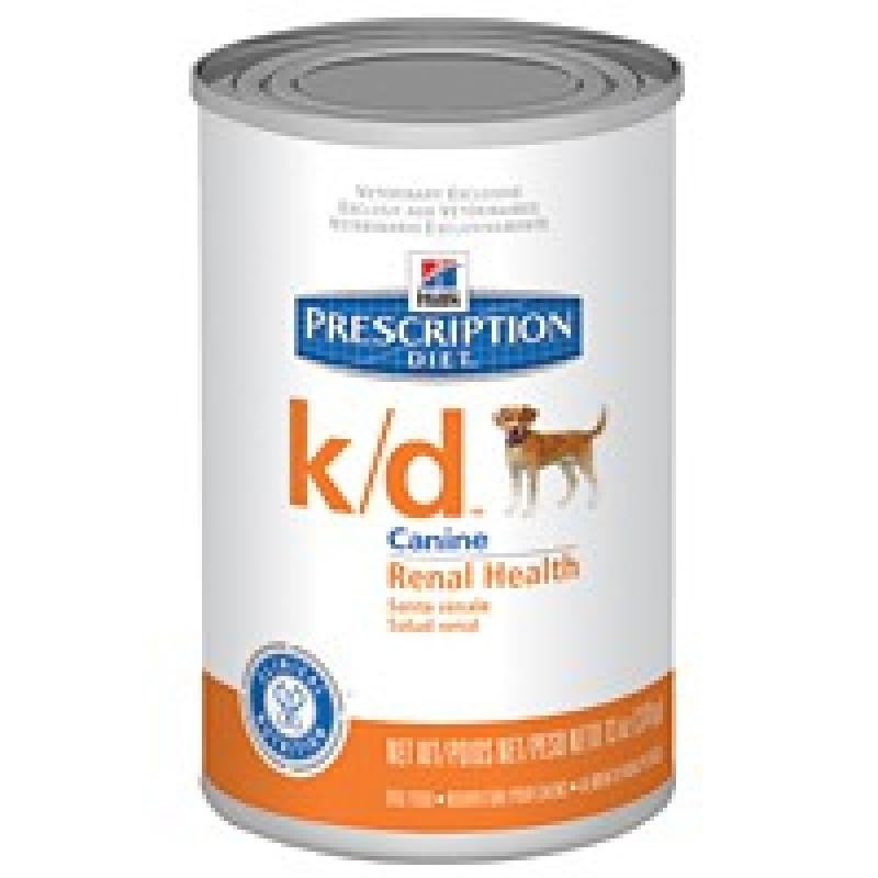 Hills Canine K|D Консервы для собак с заболеваниями почек