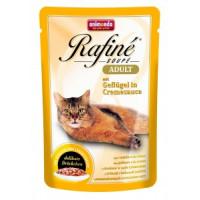 Animonda Rafine Soupe Adult Пауч для кошек коктейль из домашней птицы в сливочном соусе