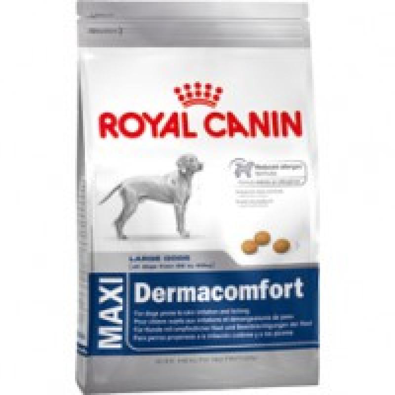 Royal Canin Maxi Dermacomfort 25 Корм для собак, склонных к кожным раздражениям и зуду 14кг