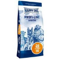 Happy Dog Profi Krokette Sportive (Спорт) 26/16 Полноценный корм для собак с высокими энергетическими потребностями 20кг