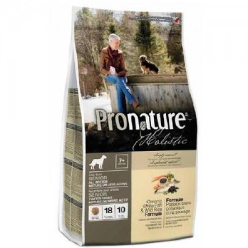 Pronature Holistic Сухой корм для собак Облегченный, Океаническая белая рыба с рисом