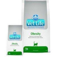 Farmina Vet Life Obesity Диета для кошек при ожирении, подходит для питания стерилизованных животных