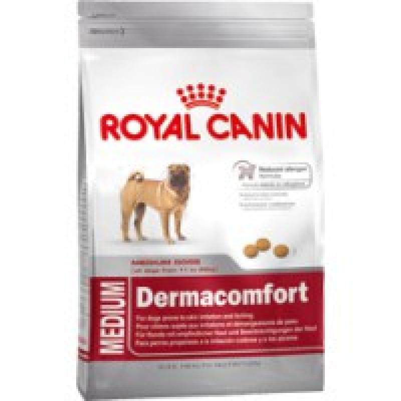 Royal Canin Medium Dermacomfort 24 Корм для собак, склонных к кожным раздражениям и зуду 10кг