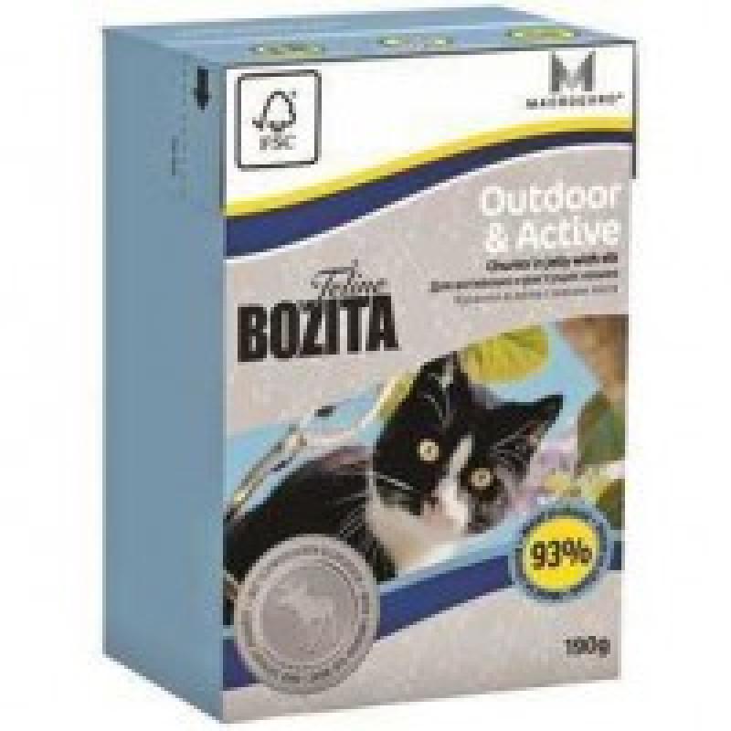 Bozita Mini Funktion Outdoor&Active кусочки Лося в желе для активных кошек 190г