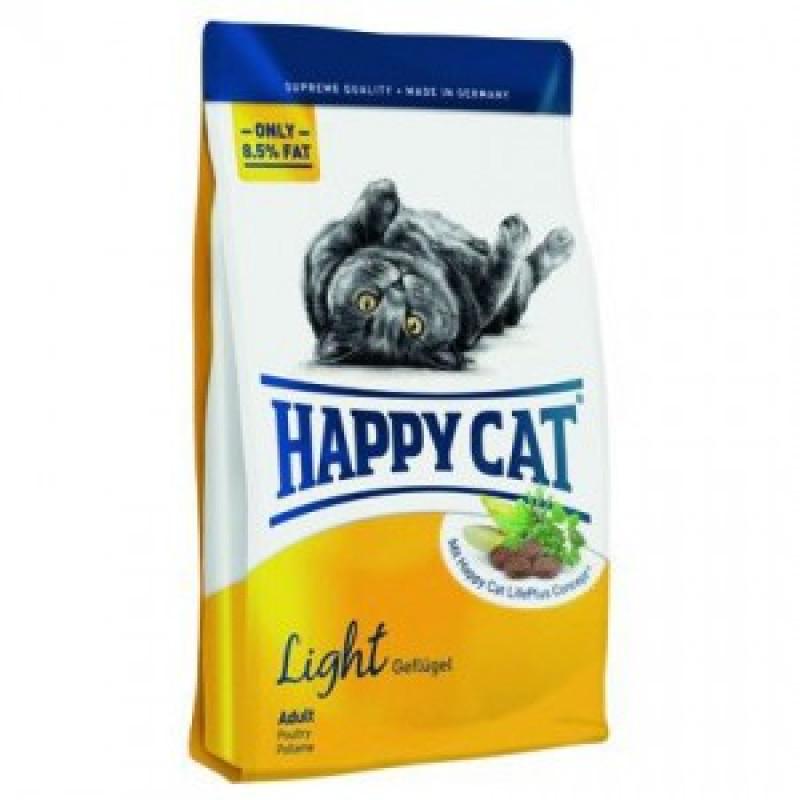 HAPPY CAT Adult Light Fit & Well  Корм для склонных к полноте кошек  10кг