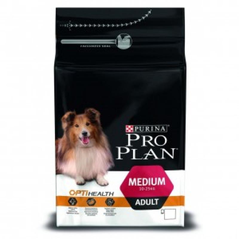 Pro Plan Medium Adult Корм для взрослых собак всех пород, Курица с рисом