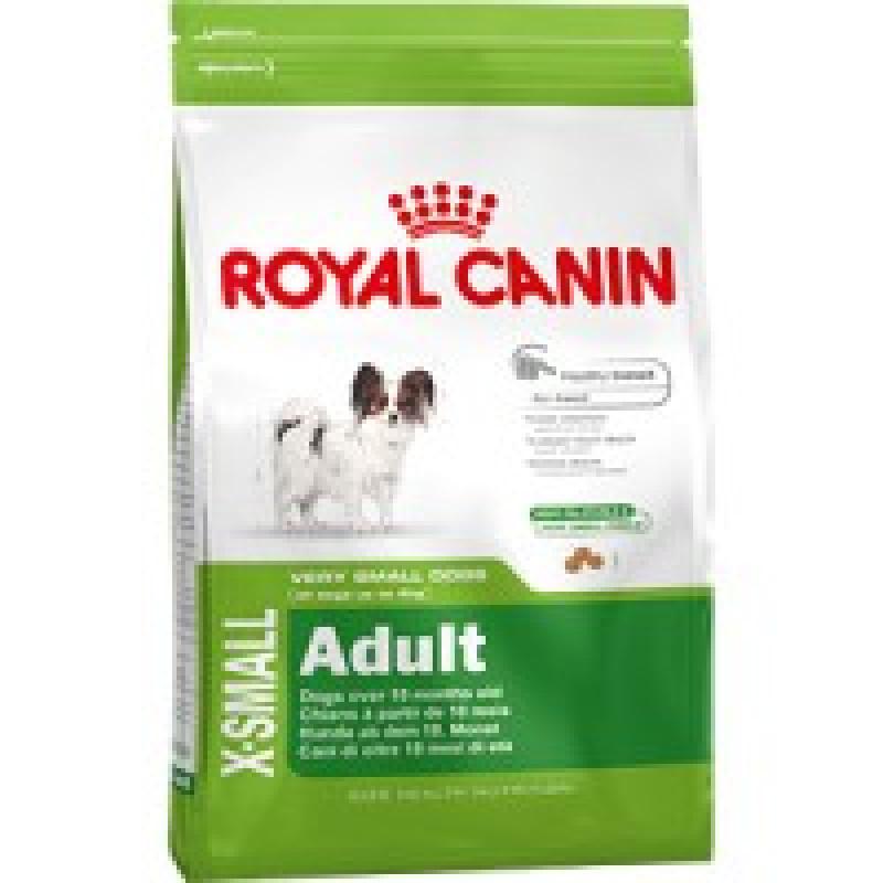 Royal Canin X-Small Adult (ИКС-Смол Эдалт) Корм для собак миниатюрных пород от 10 месяцев до 8 лет