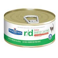 Hills Feline R|D Консервы для кошек с избыточным весом, лечение ожирения